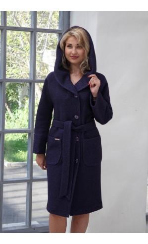 Демисезонные пальто с капюшоном