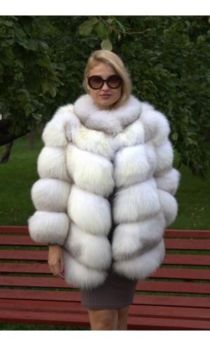 Арктическая лиса шуба